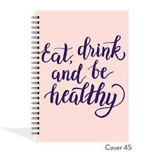 DIARIO ALIMENTARE Slimming World compatibile Planner Tracker REGISTRO LIBRO dieta perdita di peso 45