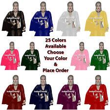 25 Color Flair Wrap Top Choli Belly Dance Club Tribal Boho Haut Tie Top gypsy