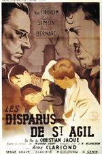 Christian Jaque Les disparus de Saint-Agil poster