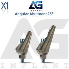 Angular Abutment 25° Aesthetic Titanium For Dental Implant Internal Hex