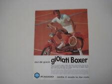 advertising Pubblicità 1975 PIAGGIO BOXER