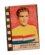 MIDDELKAMP OLANDA HOLLAND CICLISMO FIGURINA campioni  sport  NANNINA anni 40