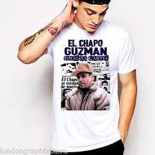 El Chapo, T-Shirt, Joaquin El Chapo Guzman, Sinaloa cartel, tank top, SZ S-2XL