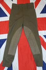"HOUSEHOLD CAVALRY NO2 KHAKI DRESS RIDING BREECHES - Waist: 30"" , British Army"