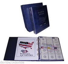 ALBUM RACCOGLITORE COMPLETO QUARTER DOLLAR 1999 2008 STATI UNITI D'AMERICA