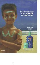 PUBLICITE ADVERTISING 2004 NIVEA creme solaire