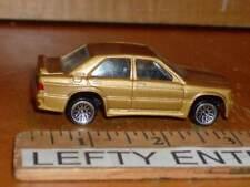 HOTWHEELS GOLD 1986 MERCEDES BENZ 190 AMG -1/59 SCALE - NEAR MINT CONDITION