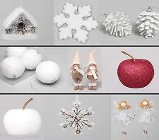Boules de noël Décorations pour arbre Pomme pin Ange d'arbre WOW