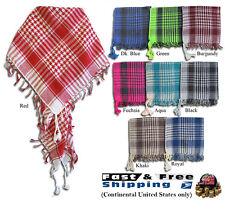 Arab Shemagh Keffiyeh Fashion Unisex Tactical Palestine Light Cotton Scarf Wrap