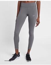 $95 NEW Women's Nike Power Epic Lux Running Tights 890305 036 XS S M L Gunsmoke