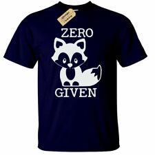 ZERO FOX GIVEN T-Shirt funny joke rude gift foxes Mens tee novelty