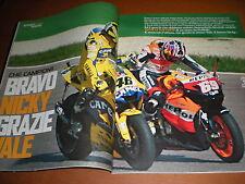 Sport Week.VALENTINO ROSSI & NICKY HAYDEN,STEFANO BALDINI,bbbbb