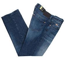 HUGO BOSS KANSAS 2 50318967 MEN'S REGULAR FIT STRETCH BLUE JEANS PANTS MULTISIZE