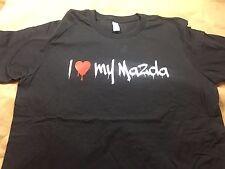 I LOVE MY MAZDA - FUNNY JDM CAR SHIRT - GRAFFITI PRINT - MIATA RX-7 RX-8