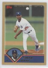 2003 Topps Gold #256 Omar Daal Los Angeles Dodgers Baseball Card