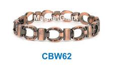Unisex horseshoe Copper link high power magnetic bracelet Cbw62