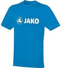 Jako T-Shirt Promo JAKO blau Gr.128 Gr.140 Gr.152 Gr.164 Gr.L 100% Baumwolle