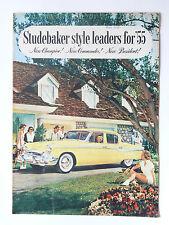 Grand  Catalogue  STUDEBAKER       1955  En  Anglais  brochure prospectus car
