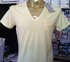 T-shirt uomo Angel Devil con collo V ampio taschino e logo ricamato art 14010078
