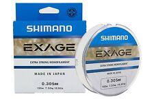 Monofilo SHIMANO EXAGE 150 metri Made in Japan - Extra Strong Monofilament