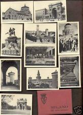Miniature Real Photo Set Milano-Milan Italy Postcards