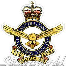 AUSTRALIA AirForce Badge Crest Australian RAAF Emblem, Vinyl Sticker Decal