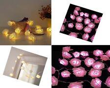 SENTIK LED ROSE FLOWER STRING LIGHTS INDOOR CHRISTMAS XMAS WEDDING PARTY BEDROOM