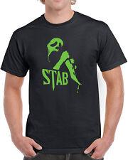 351 Stab mens T-shirt film movie scream scary 90s slasher flick costume funny