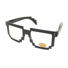 Pixal Retro Brille Hornbrille Klarglas RAY1255