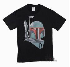 Star Wars Boba Fett Geometic Licensed Adult Shirt S-XXL