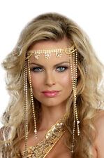 Brand New Goddess Queen Shimmer Rhinestone Headpiece Costume Accessory