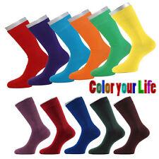 2 Paar knallige Strümpfe Diabetiker Socken Piqué-Bund ohne Gummi Color of Life