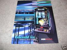 NSM EMERALD ICE jukebox flyer