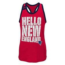NWT New England Patriots NFL Youth Girls Princess-Cut Tank Top - Medium (10/12)