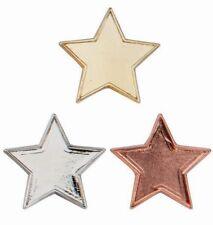 Schools Badge, Bronze, Silver or Gold Star School Awards Badge 20mm