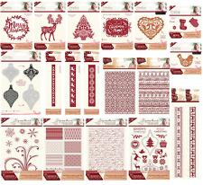 Crafters Companion Sara Signature Collection Navidad escandinavo 2017 Nuevo