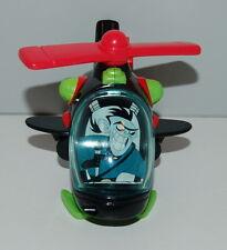 """2003 Drakken Helicoptor 4.75"""" McDonalds #3 Disney Action Figure Toy Kim Possible"""