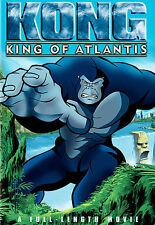 Kong: King of Atlantis (DVD, 2005, Animated Movie) Warner Home Video,WW Shipping