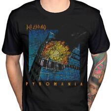Def Leppard - Pyromania T Shirt Size:L,XL - NEW & OFFICIAL