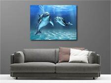Quadro dipinti decocrazione in kit Delfini ref 52734868