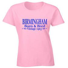 Birmingham Camiseta Regalo De Cumpleaños Cualquier Año O Place brummie