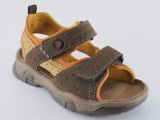 Boomers zapatos para niños 31 32 33 verde oliva/Orange sandalias nuevo