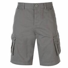 Mens Firetrap BTK Shorts Cargo Cotton New