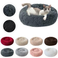Pet Dog Cat Calming Bed Nest Warm Soft Plush Comfortable Self Deep Sleeping Mat
