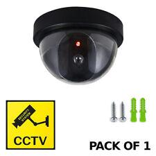 Manichino Telecamera CCTV photr SICUREZZA SORVEGLIANZA DOME CAM fake IR LED Luce Esterno