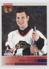 2004-05 Pacific Blue Ice #275 Adam Munro Chicago Blackhawks Rookie Hockey Card