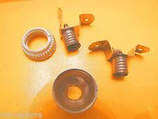 2 Porta lampadine giocattolo vintage base a vite diametro 1 cm anni '50 metallo