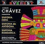 Chavez: Sinfonia India / Sinfonia De Antigona / Sinfonia Romantica