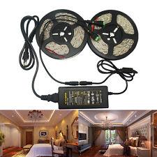 10M 5050 Led Strip Light Waterproof +12V 5A Transformer Adapter for Decoration