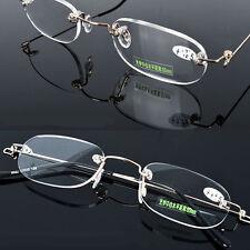 Rimless Reading Glasses Reader Spectacles Eyeglass +1.0 1.5 2.0 2.5 3.0 3.5 3.75